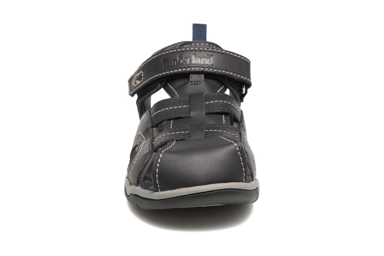 Sandales et nu-pieds Timberland Oak Bluffs Leather Fisher Bleu vue portées chaussures