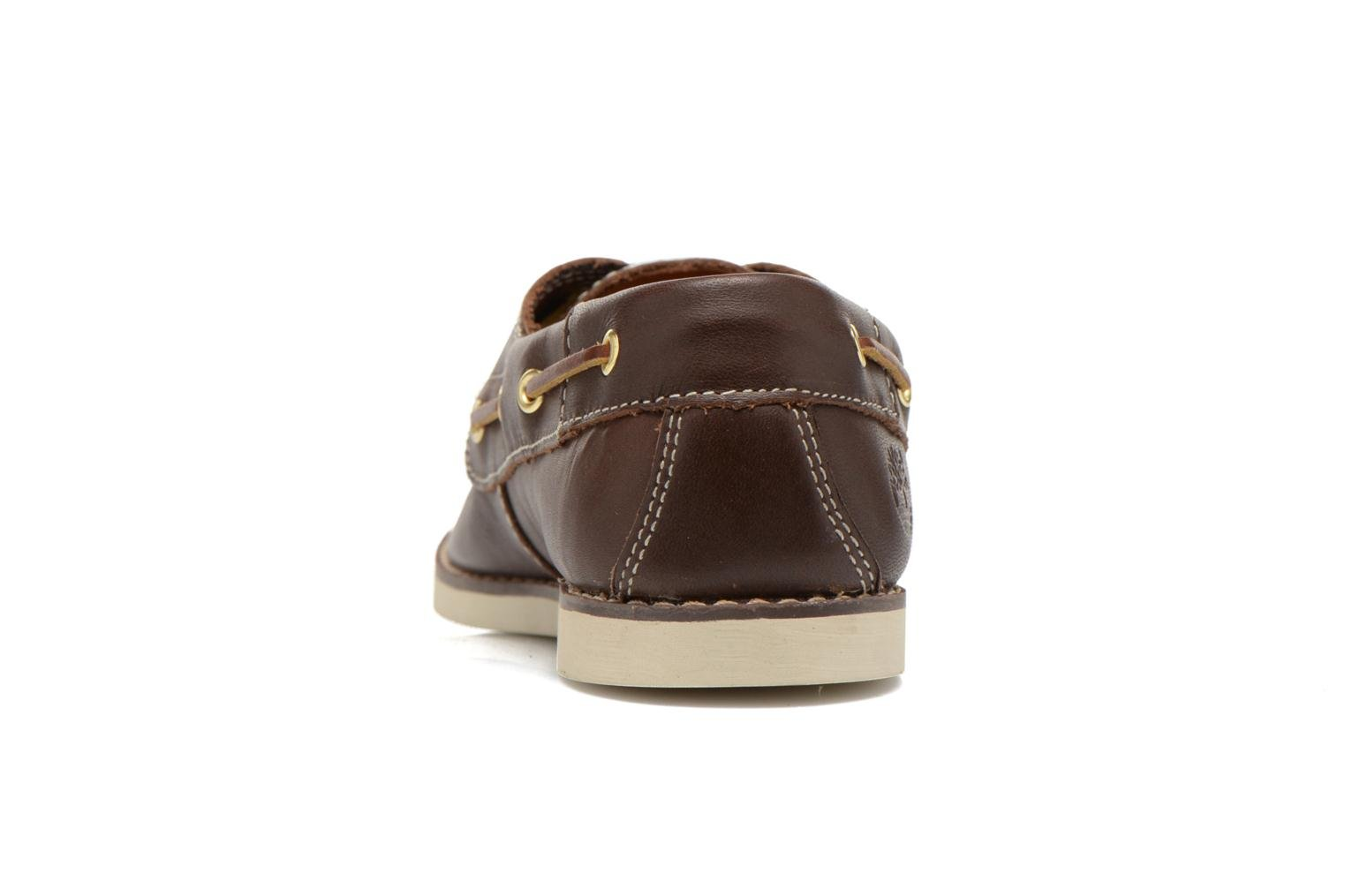 Chaussures à lacets Timberland Seabury Classic 2Eye Boat Marron vue droite