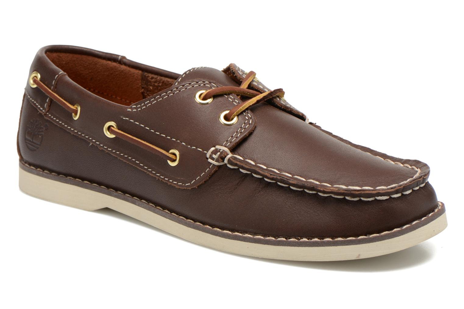 Seabury Classic 2Eye Boat Brown Smooth