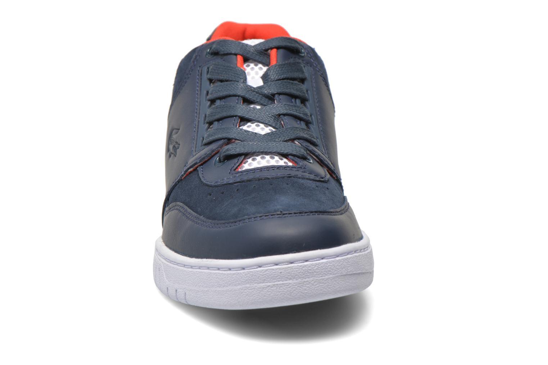 Baskets Lacoste Indiana 216 C Bleu vue portées chaussures
