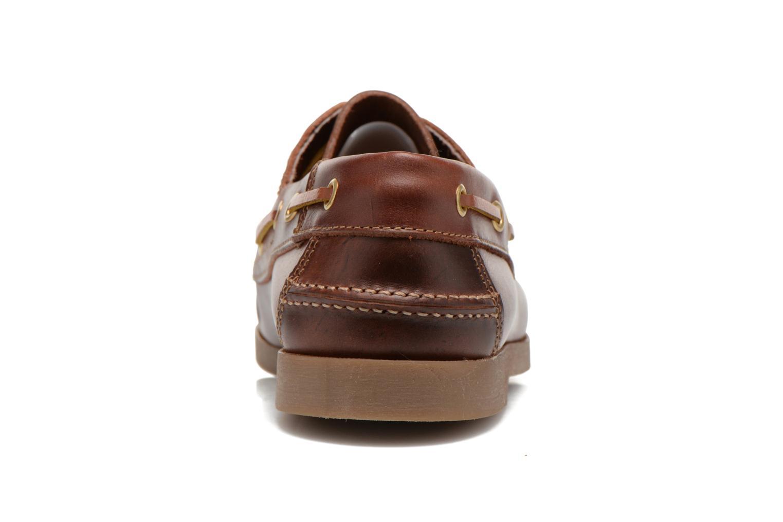 Snörade skor Marvin&Co Story Brun Bild från höger sidan