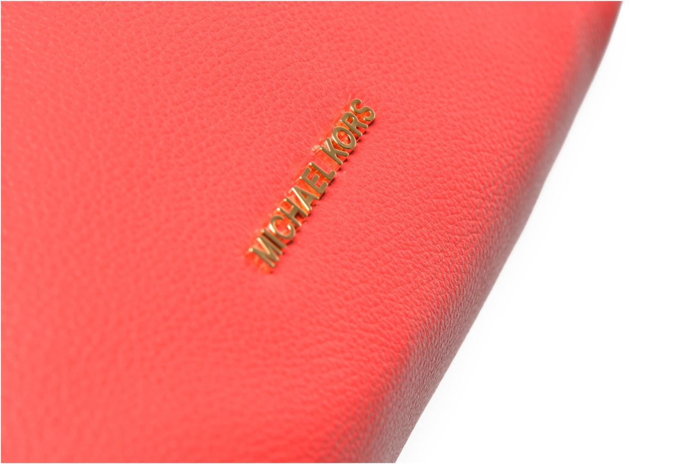 Handtaschen Michael Michael Kors JET SET CHAIN ITEM MD CHAIN MESSENGER rot ansicht von hinten