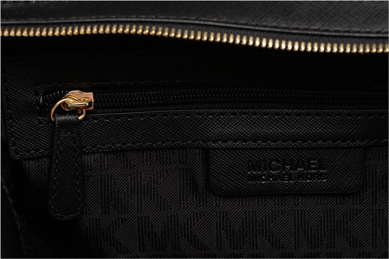 Handtassen Michael Michael Kors SELMA MD TZ SATCHEL Zwart achterkant