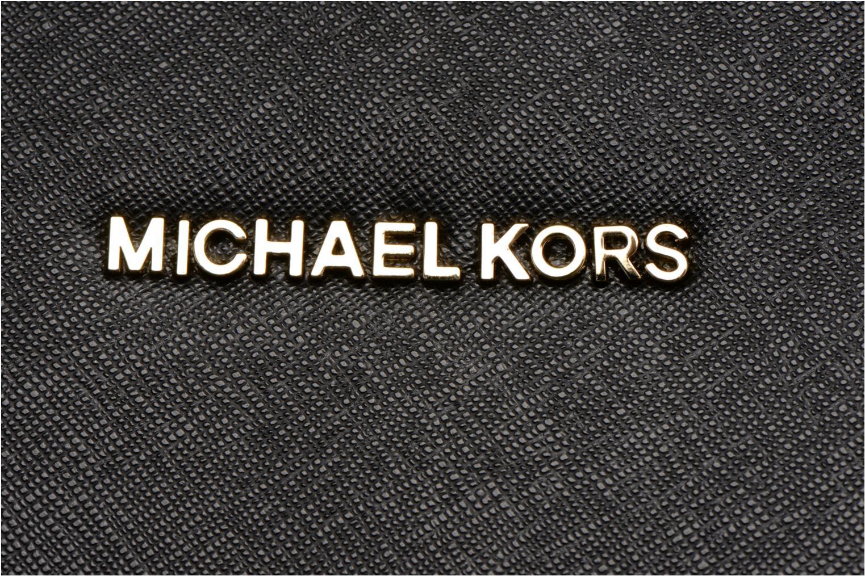 Handtassen Michael Michael Kors SELMA MD TZ SATCHEL Zwart links
