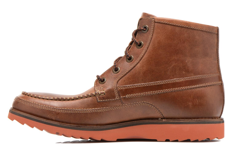 Boots en enkellaarsjes Rockport Cb hi moc Bruin voorkant