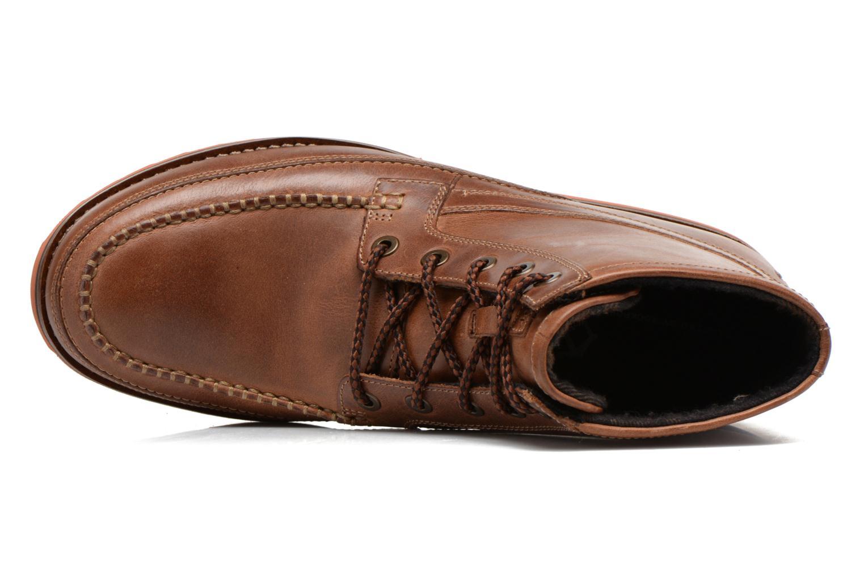 Boots en enkellaarsjes Rockport Cb hi moc Bruin links