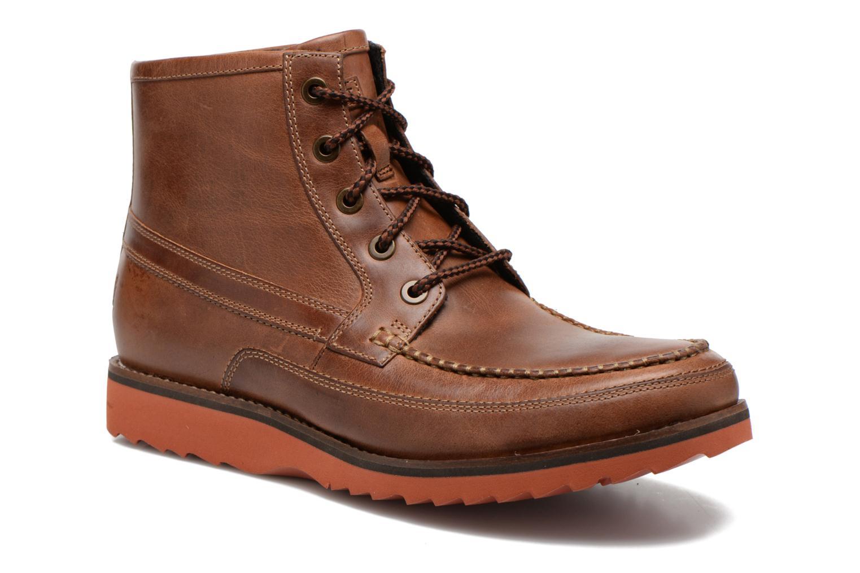 Boots en enkellaarsjes Rockport Cb hi moc Bruin detail