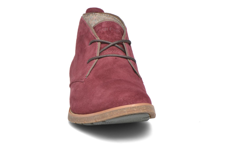 Chaussures à lacets Hush Puppies Roland Jester Bordeaux vue portées chaussures