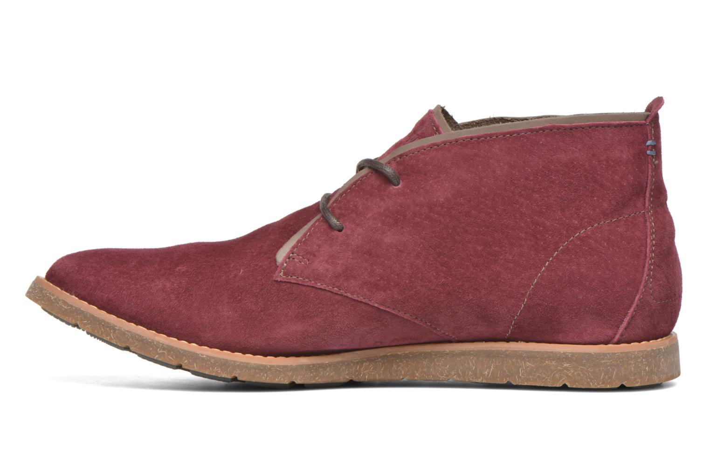 Chaussures à lacets Hush Puppies Roland Jester Bordeaux vue face