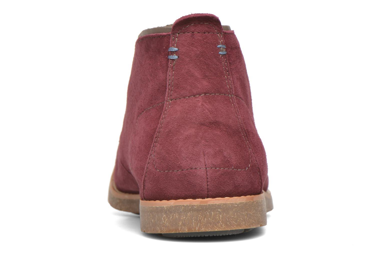Chaussures à lacets Hush Puppies Roland Jester Bordeaux vue droite