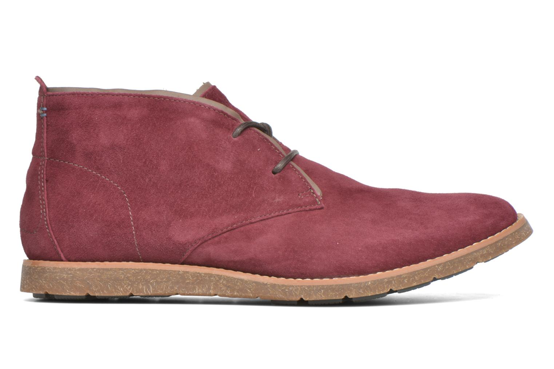 Chaussures à lacets Hush Puppies Roland Jester Bordeaux vue derrière