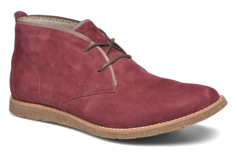 Chaussures à lacets Hush Puppies Roland Jester Bordeaux vue détail/paire