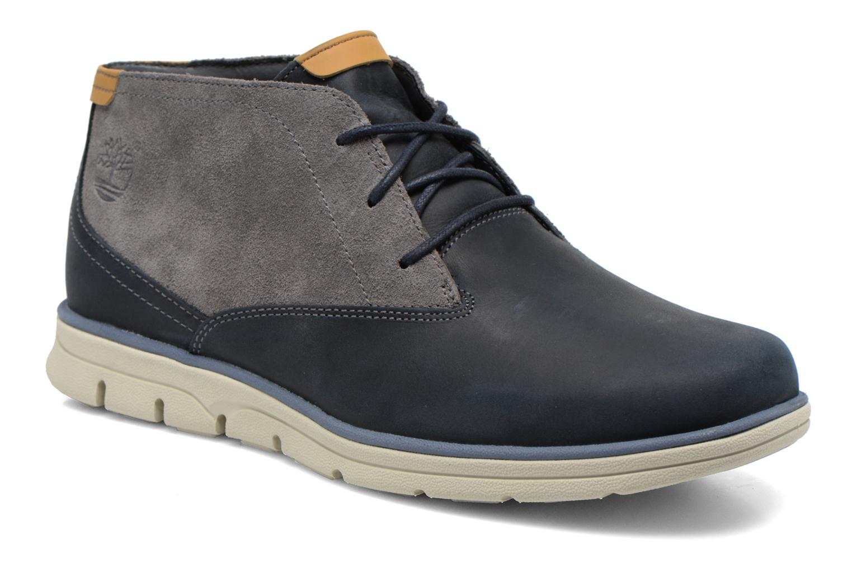 ddb0122d94c Chaussures à lacets Timberland Bradstreet PT Chukka Bleu vue détail paire