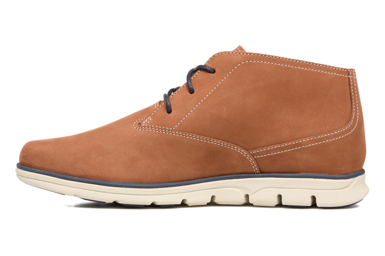 Chaussures à lacets Timberland Bradstreet PT Chukka Beige vue face