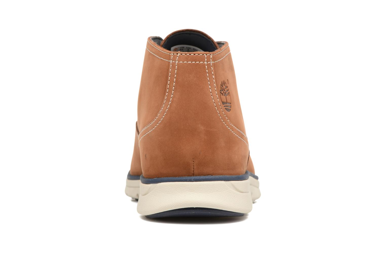Chaussures à lacets Timberland Bradstreet PT Chukka Beige vue droite
