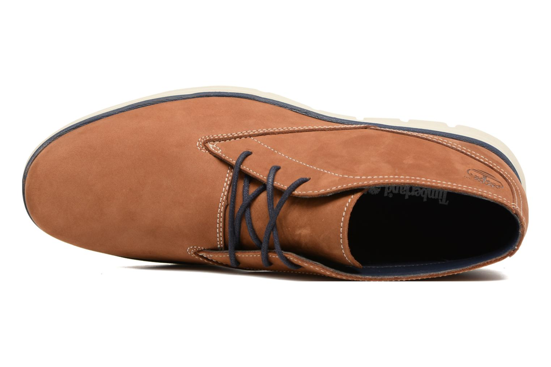 Chaussures à lacets Timberland Bradstreet PT Chukka Beige vue gauche