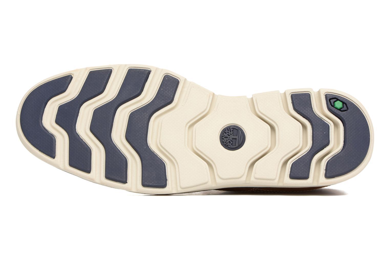 Chaussures à lacets Timberland Bradstreet PT Chukka Beige vue haut