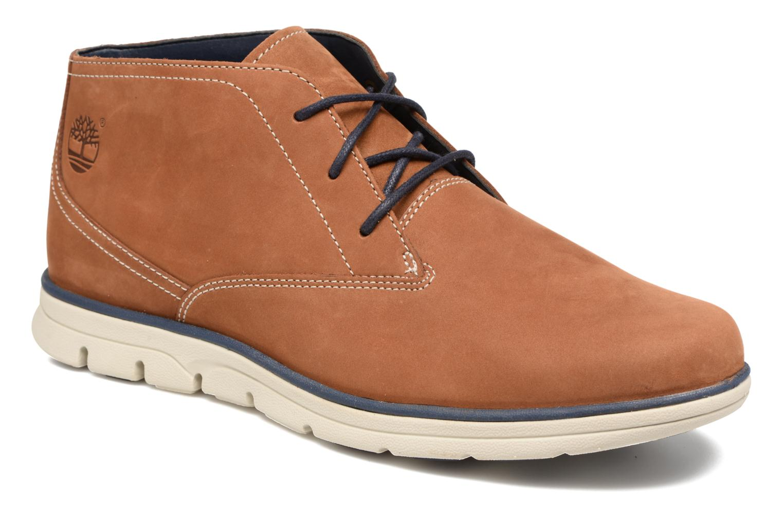 Chaussures à lacets Timberland Bradstreet PT Chukka Beige vue détail/paire