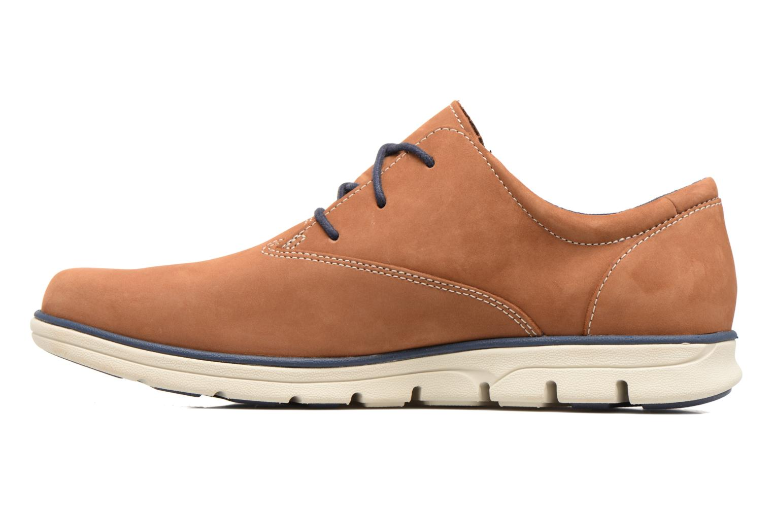 Chaussures à lacets Timberland Bradstreet PT Oxford Beige vue face