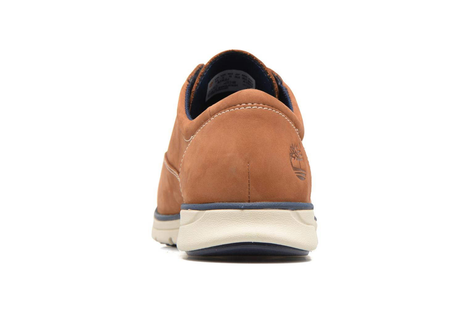 Chaussures à lacets Timberland Bradstreet PT Oxford Beige vue droite