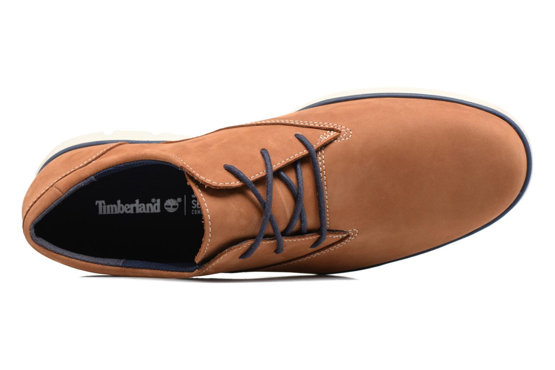 Chaussures à lacets Timberland Bradstreet PT Oxford Beige vue gauche