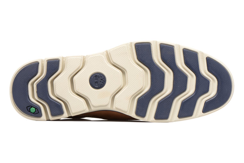 Chaussures à lacets Timberland Bradstreet PT Oxford Beige vue haut