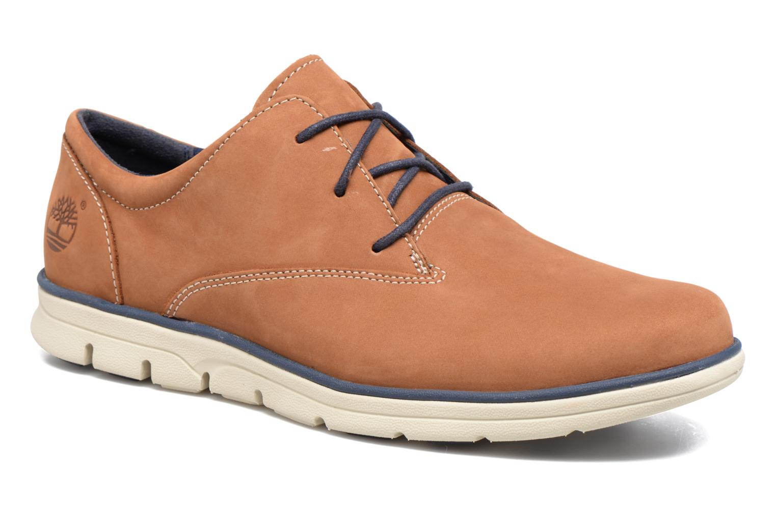Lace-up shoes Timberland Bradstreet PT Oxford Beige detailed view/ Pair view