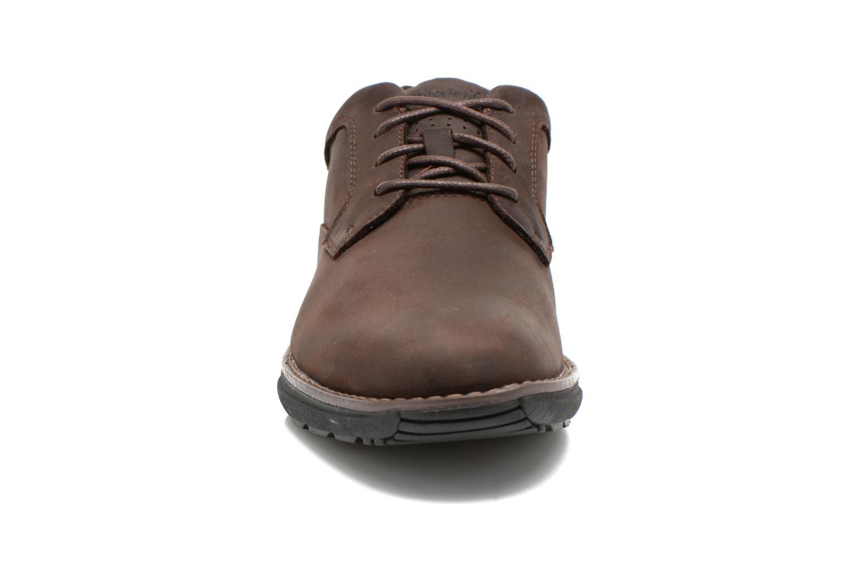 Chaussures à lacets Timberland Barrett PT Oxford Marron vue portées chaussures
