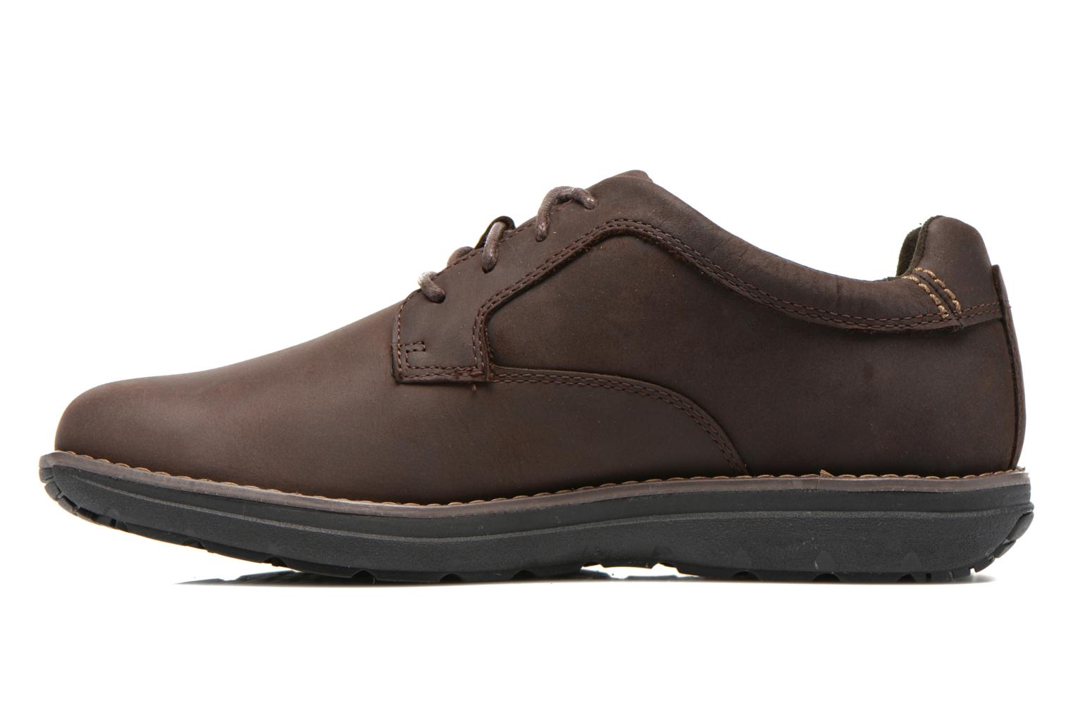 Lace-up shoes Timberland Barrett PT Oxford Brown front view