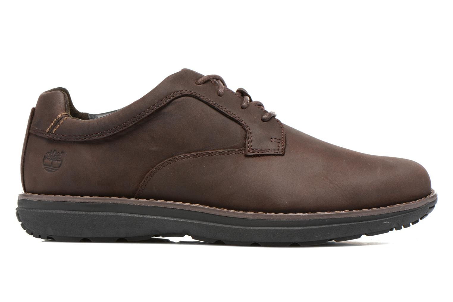 Lace-up shoes Timberland Barrett PT Oxford Brown back view