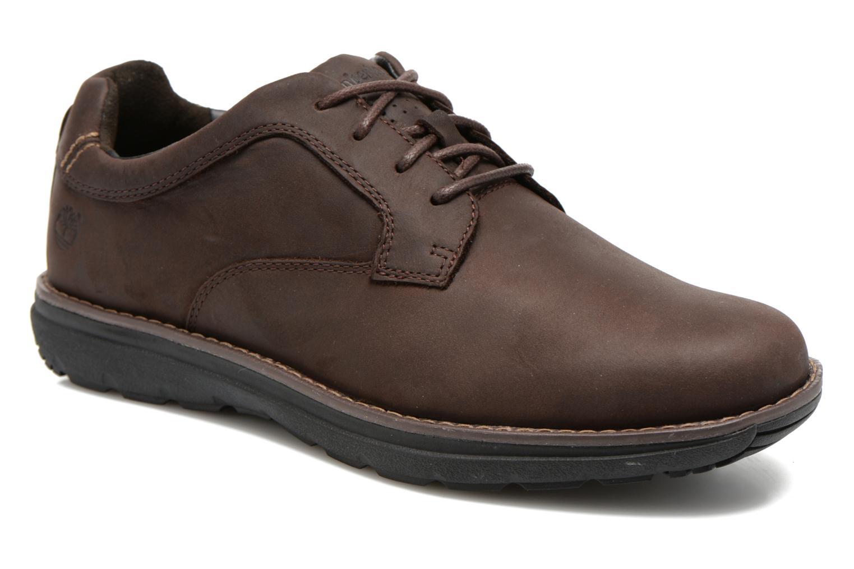 Zapatos con cordones Timberland Barrett PT Oxford Marrón vista de detalle / par