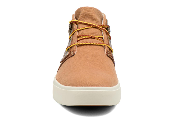 Chaussures à lacets Timberland Amherst Chukka Marron vue portées chaussures