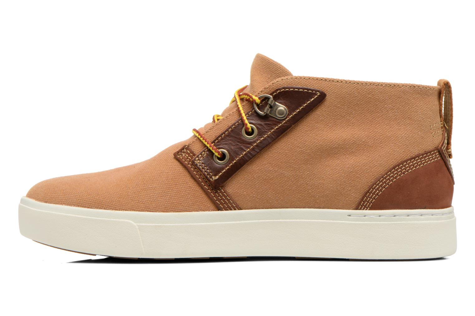 Chaussures à lacets Timberland Amherst Chukka Marron vue face