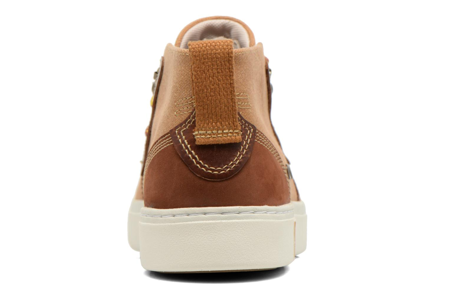 Chaussures à lacets Timberland Amherst Chukka Marron vue droite
