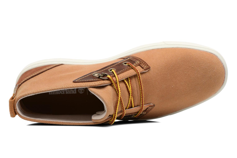 Chaussures à lacets Timberland Amherst Chukka Marron vue gauche