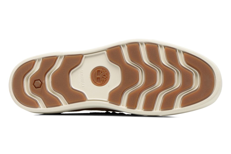 Chaussures à lacets Timberland Amherst Chukka Marron vue haut