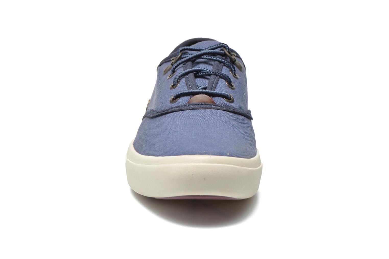 Sneaker Timberland Amherst Oxford blau schuhe getragen