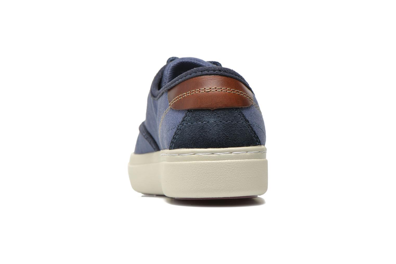 Baskets Timberland Amherst Oxford Bleu vue droite
