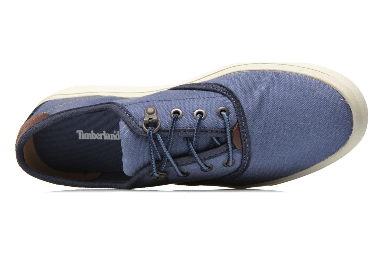Sneaker Timberland Amherst Oxford blau ansicht von links