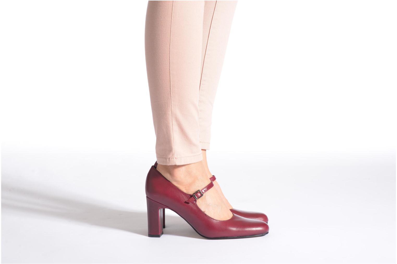 Zapatos de tacón Elizabeth Stuart Gix 304 Vino vista de abajo