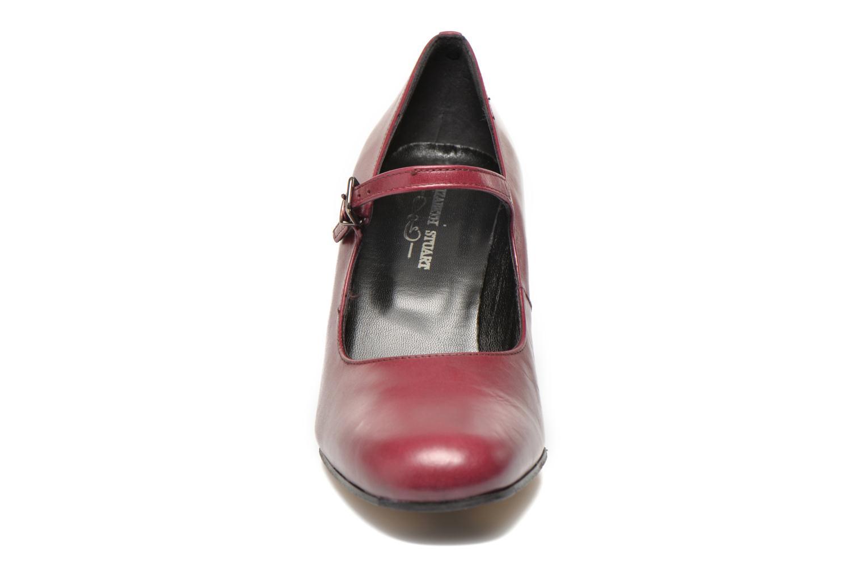 Escarpins Elizabeth Stuart Gix 304 Bordeaux vue portées chaussures