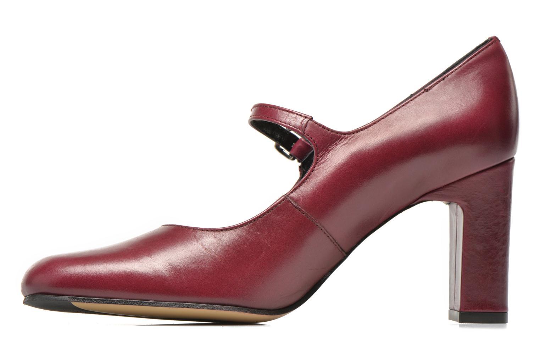 Zapatos de tacón Elizabeth Stuart Gix 304 Vino vista de frente