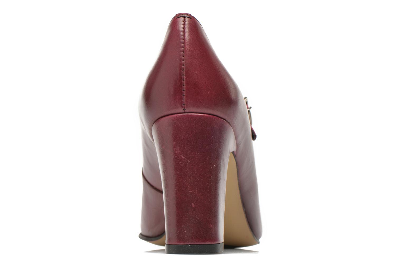 Zapatos de tacón Elizabeth Stuart Gix 304 Vino vista lateral derecha
