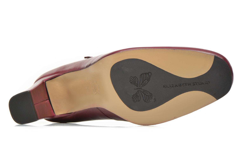 Zapatos de tacón Elizabeth Stuart Gix 304 Vino vista de arriba