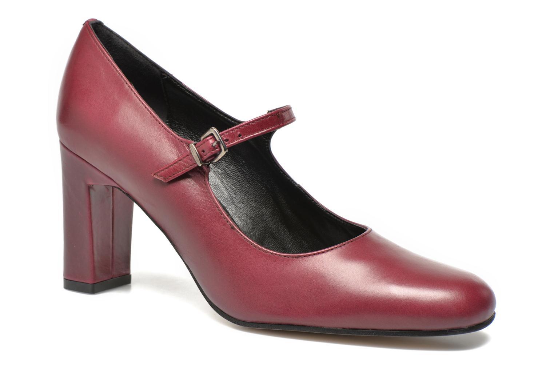 High heels Elizabeth Stuart Gix 304 Burgundy detailed view/ Pair view
