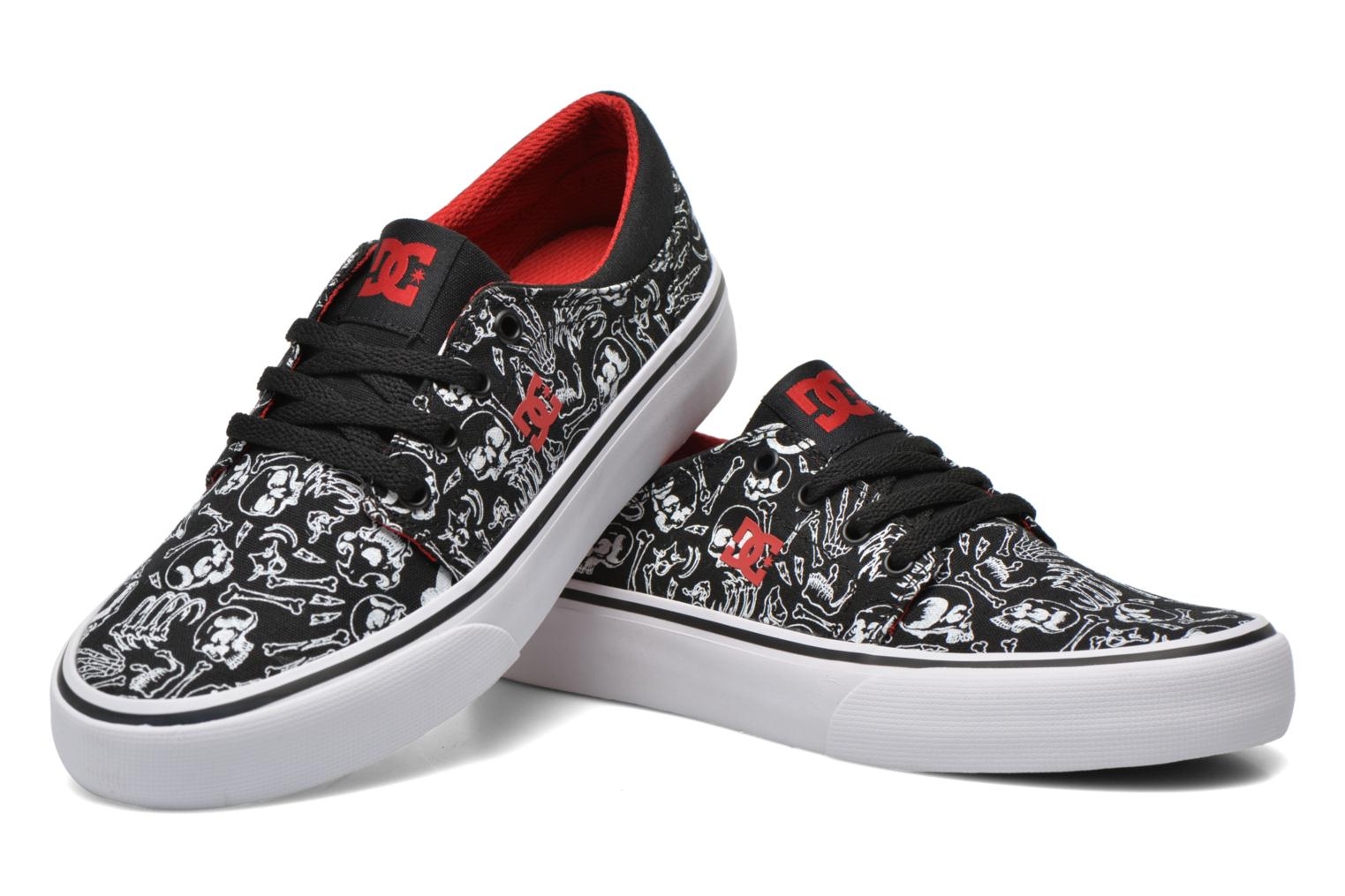 Trainers DC Shoes Trase Sp Kids Black 3/4 view