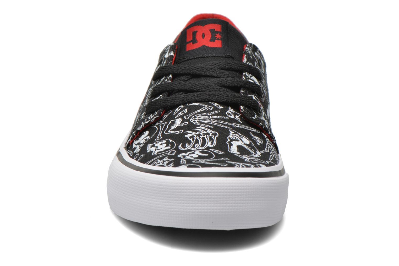 Baskets DC Shoes Trase Sp Kids Noir vue portées chaussures