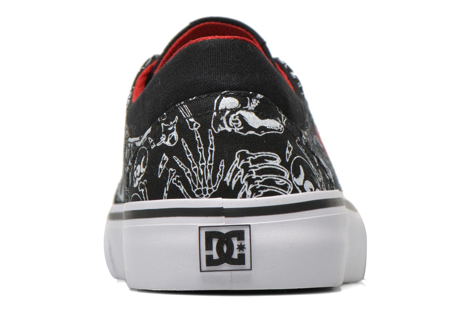 Trainers DC Shoes Trase Sp Kids Black view from the right