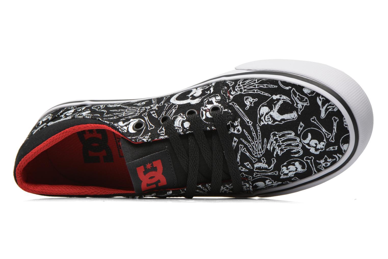 Baskets DC Shoes Trase Sp Kids Noir vue gauche