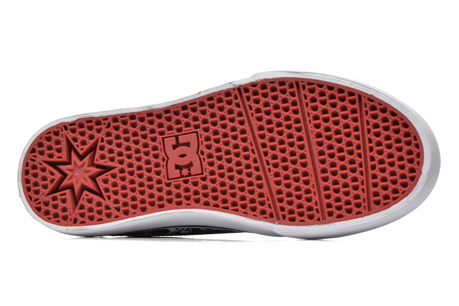 Baskets DC Shoes Trase Sp Kids Noir vue haut